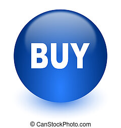 buy computer icon on white background