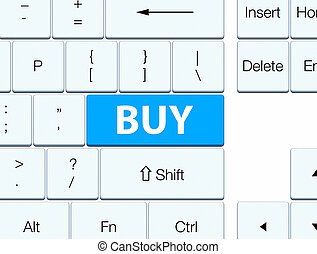 Buy cyan blue keyboard button