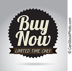 buy design over gray background vector illustration