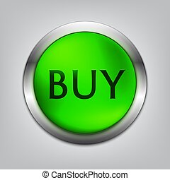 Buy Green Button Realistic