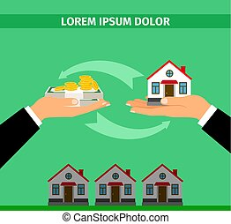 Buy house convert into cash banner