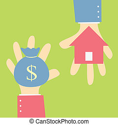 buy house - money exchange home