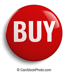 Buy Icon - Isolated Red Symbol