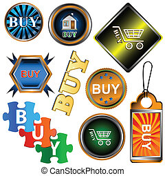 Buy icons set