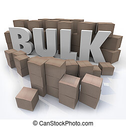 Buy in Bulk Word Many Boxes Product Volume Quantity - The...