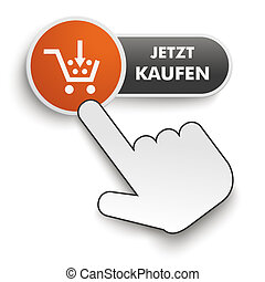 Buy It Now Button Hand Cursor