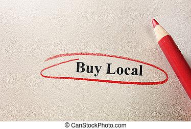 Buy Local circle