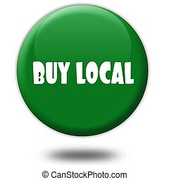 BUY LOCAL on green 3d button.