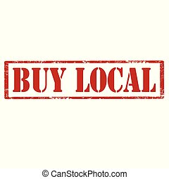 Buy Local-stamp