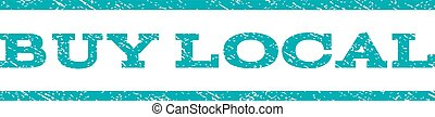 Buy Local Watermark Stamp