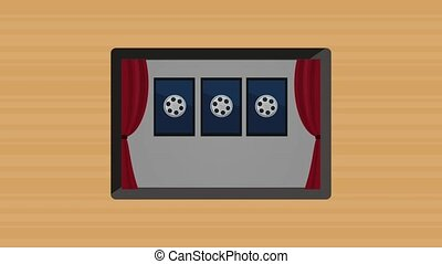 Buy movies from tablet