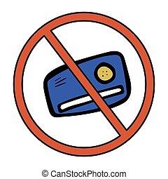 Buy nothing sign. Vector anti sale symbol. - Buy nothing ...