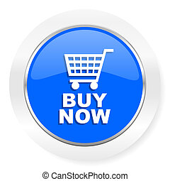 buy now blue glossy web icon - blue glossy web icon
