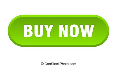 buy now button. buy now rounded green sign. buy now