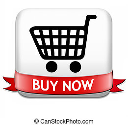 buy now button and here online sales sell on internet shop...