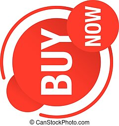 Buy now circular  button - Buy now button for web and promo ...