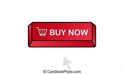 Buy now icon. Shopping Cart icon. stock illustration