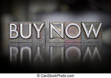 Buy Now Letterpress