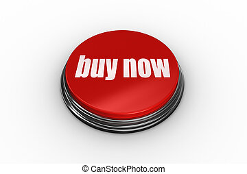 Buy now on digitally generated red push button