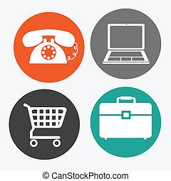 Buy online design over white background, vector illustration
