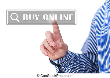 Buy online digital button