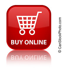 Buy online special red square button