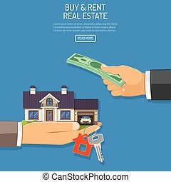 Buy or Rent Real Estate