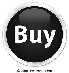 Buy premium black round button