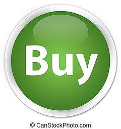 Buy premium soft green round button
