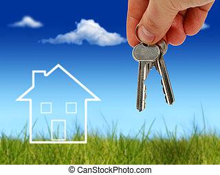 Buy real estate.