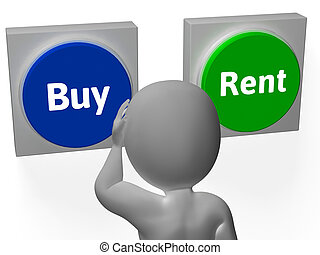 Buy Rent Buttons Show Property for Sale Or Lease - Buy Rent...