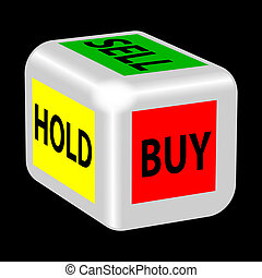 buy, sell, hold gambling
