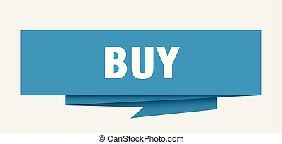 buy sign. buy paper origami speech bubble. buy tag. buy...
