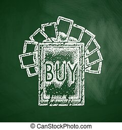buy sign icon