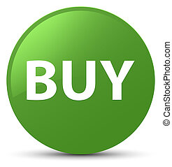 Buy soft green round button