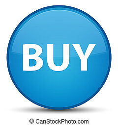 Buy special cyan blue round button