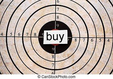 Buy target