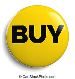 Buy Yellow Icon Symbol on White