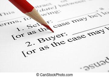 Buyer form