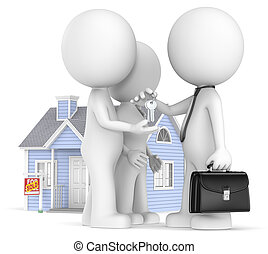 Buying a House. - The Dude and wife just bought a House.