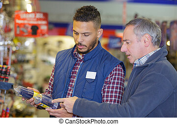 buying at a warehouse store