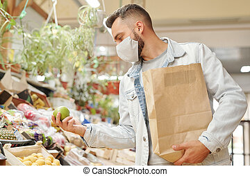 Buying fresh groceries