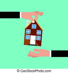 Buying Home, Real Estate Investment Concept Vector Illustration