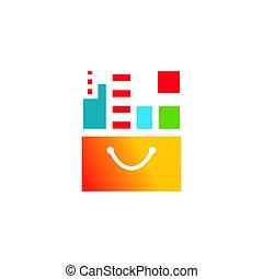 Buying Property sign - Branding identity corporate logo...