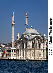 Buyuk Mecidiye Mosque in Istanbul, Turkey