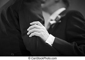 buzi, lgbt, ugyanaz, szex, házasság, esküvő, csókol