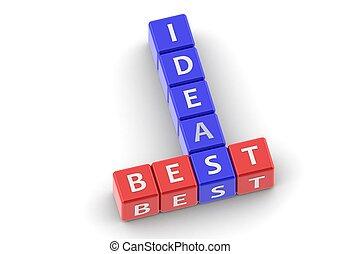 Buzzwords: best ideas