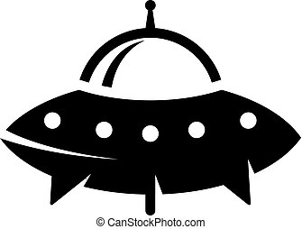 BW icon - Flying saucer