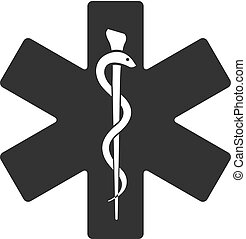 BW icon - Medical symbol
