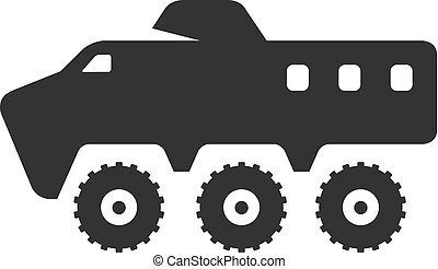 BW Icons - Armored vehicle